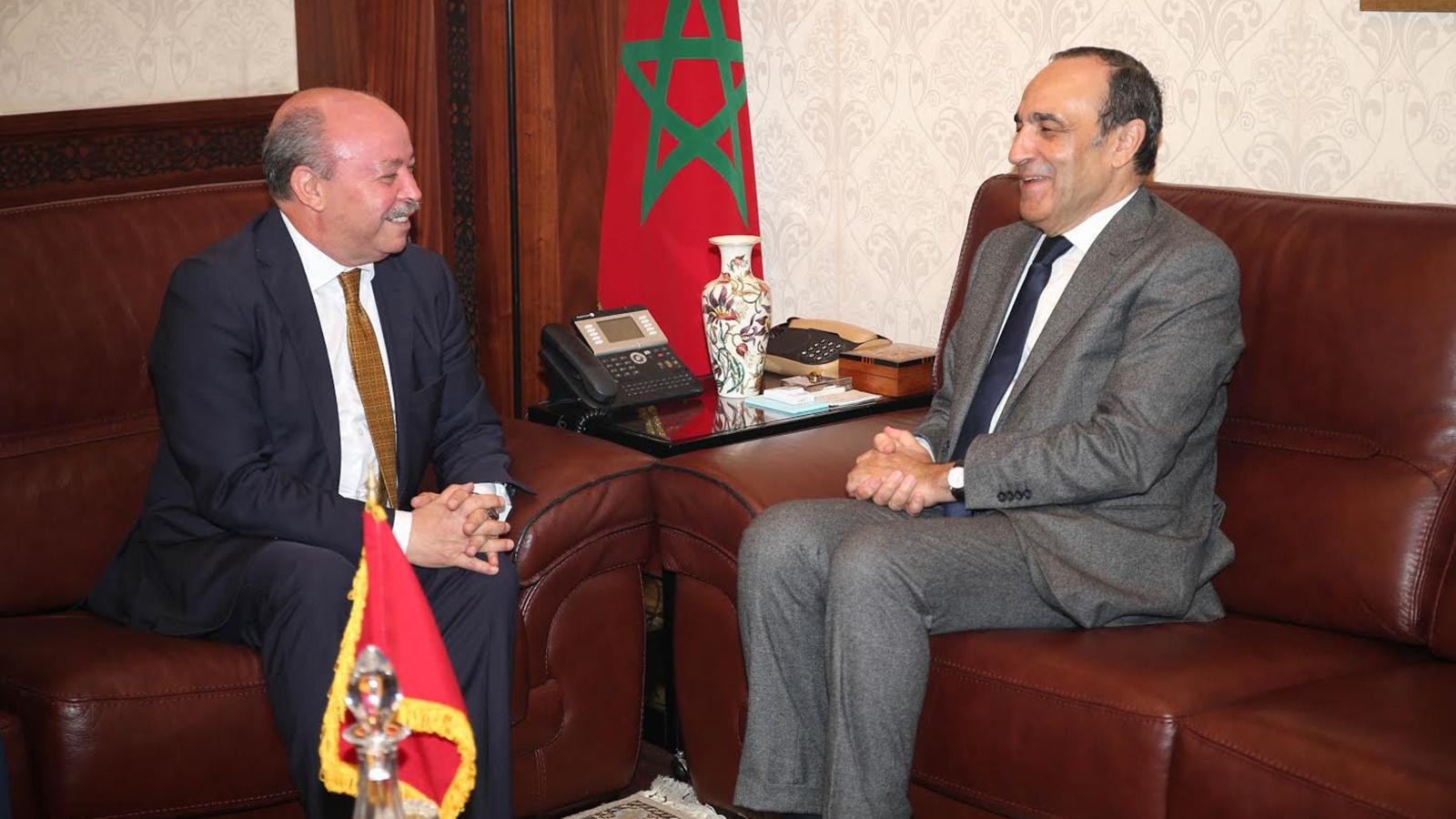 سفير الجزائر بالمغرب